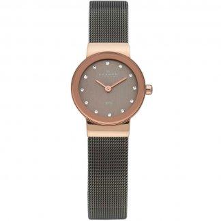 Ladies Freja Swarovski Set Black IP Watch 358XSRM