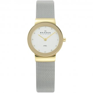 Ladies Freja Ultra Slim Two Tone Watch
