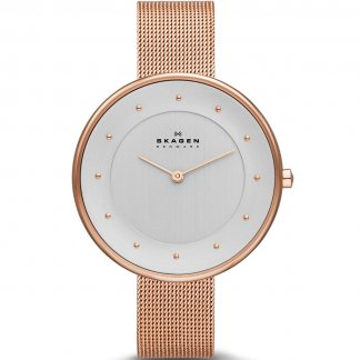 Ladies Gitte Rose Gold Skinny Bracelet Watch