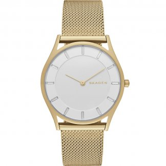 Ladies Holst Slim Gold Plated Watch SKW2377