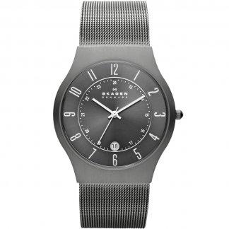 Men's Grenen Titanium Mesh Bracelet Watch 233XLTTM