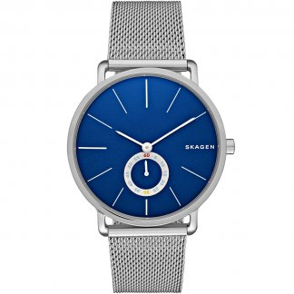 Men's Hagen Modern Blue Dial Watch