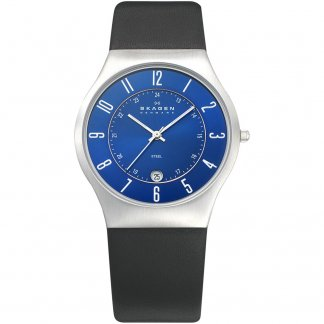 Men's Quartz Blue Dial Grenen Watch