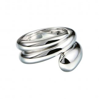Snake Sterling Silver Ring GHR26