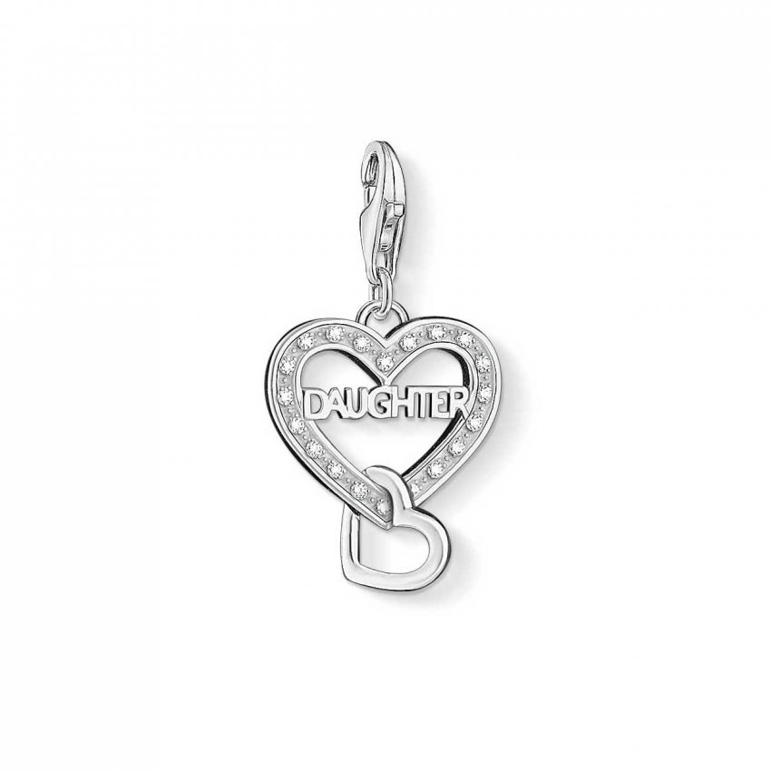 Thomas Sabo Sparkly Daughter Charm 1267-051-14