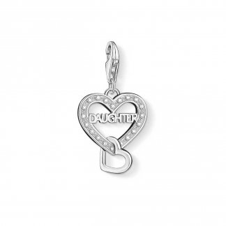 Sparkly Daughter Charm 1267-051-14