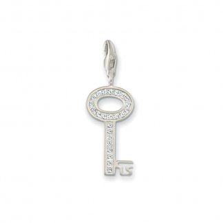 Sparkly Key Charm 0010-051-14