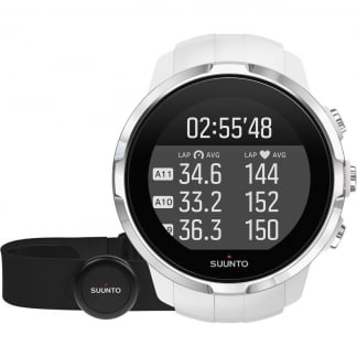 Spartan Sport White GPS SmartWatch With HRM