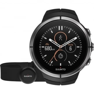 Spartan Ultra Black GPS SmartWatch With HRM