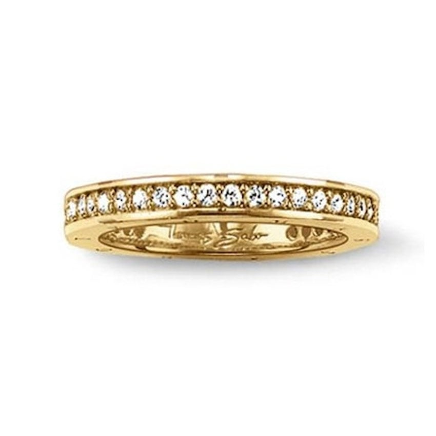 Thomas Sabo Special Edition Glam and Soul Gold Eternity Ring TR1700-414-5