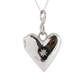 Spontaneous Heart Locket Pendant