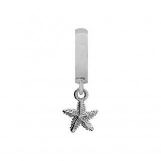 Starfish Silver Charm E31113
