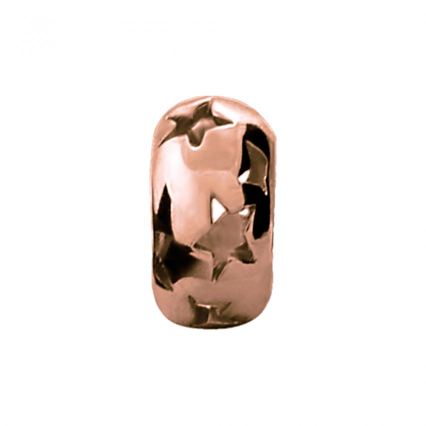 Endless Starry Night Rose Gold Charm E27251