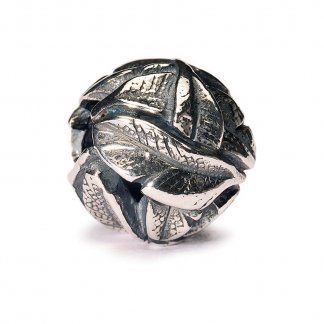 Sterling Silver Angel's Feathers Bead 11137