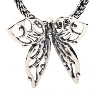 Sterling Silver Big Butterfly Pendant