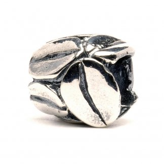 Sterling Silver Coffee Mocca Bead 11154