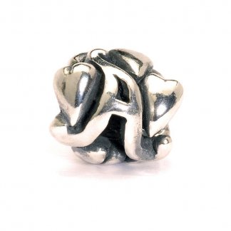 Sterling Silver Initial A Bead 11144A
