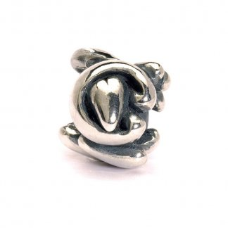 Sterling Silver Initial C Bead
