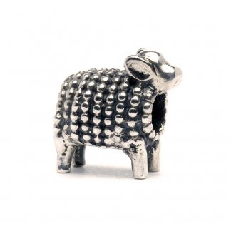 Sterling Silver Lamb Bead 11143