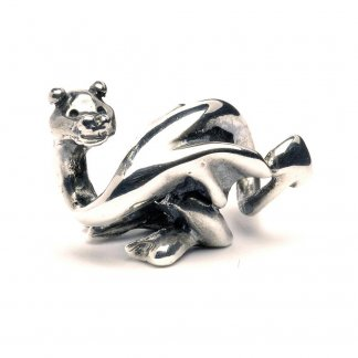 Sterling Silver Lucky Dragon Bead