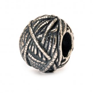 Sterling Silver Ball of Yarn Bead 11439