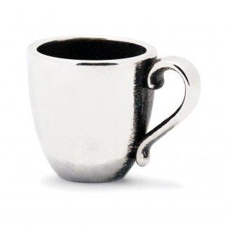 Sterling Silver Coffee Mug Bead 11161