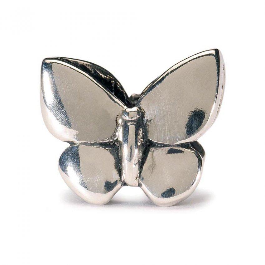 Trollbeads Sterling Silver Fantasy Butterfly Pendant 12305