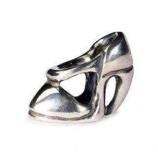 Sterling Silver High Heel Bead 11156
