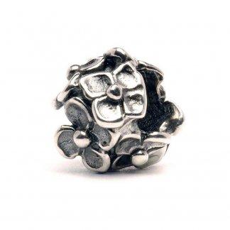Sterling Silver Hydrangea Bead 11106