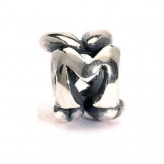 Sterling Silver Initial M Bead 11144M