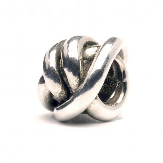 Sterling Silver Lucky Knot Bead 11112