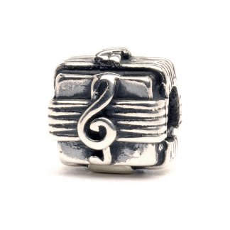 Sterling Silver Music Box Bead 11109