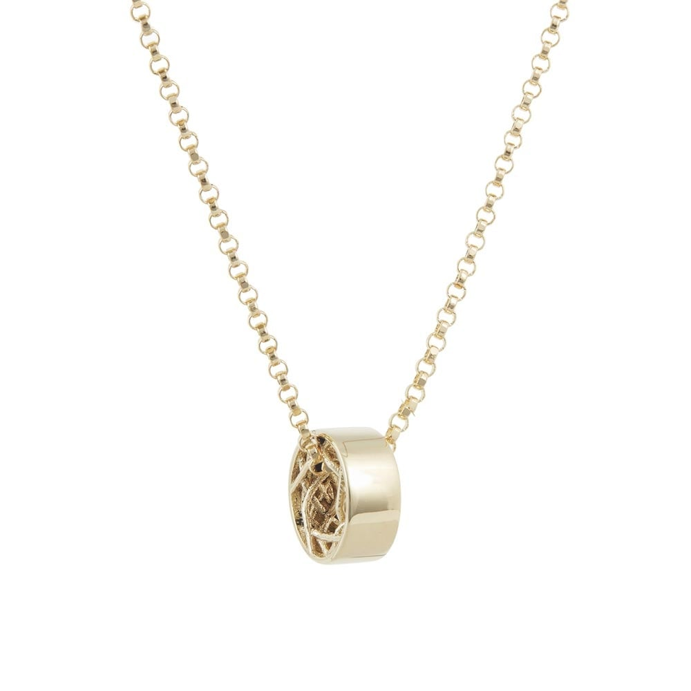 plain coin necklace