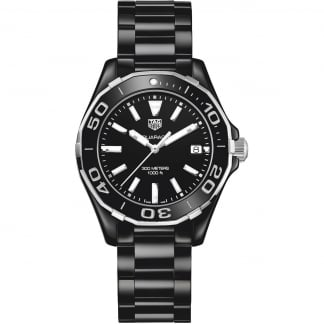 Aquaracer Lady 300M Full Black Ceramic Quartz Watch