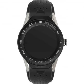 Connected Modular 41mm Black Silicone Strap Watch