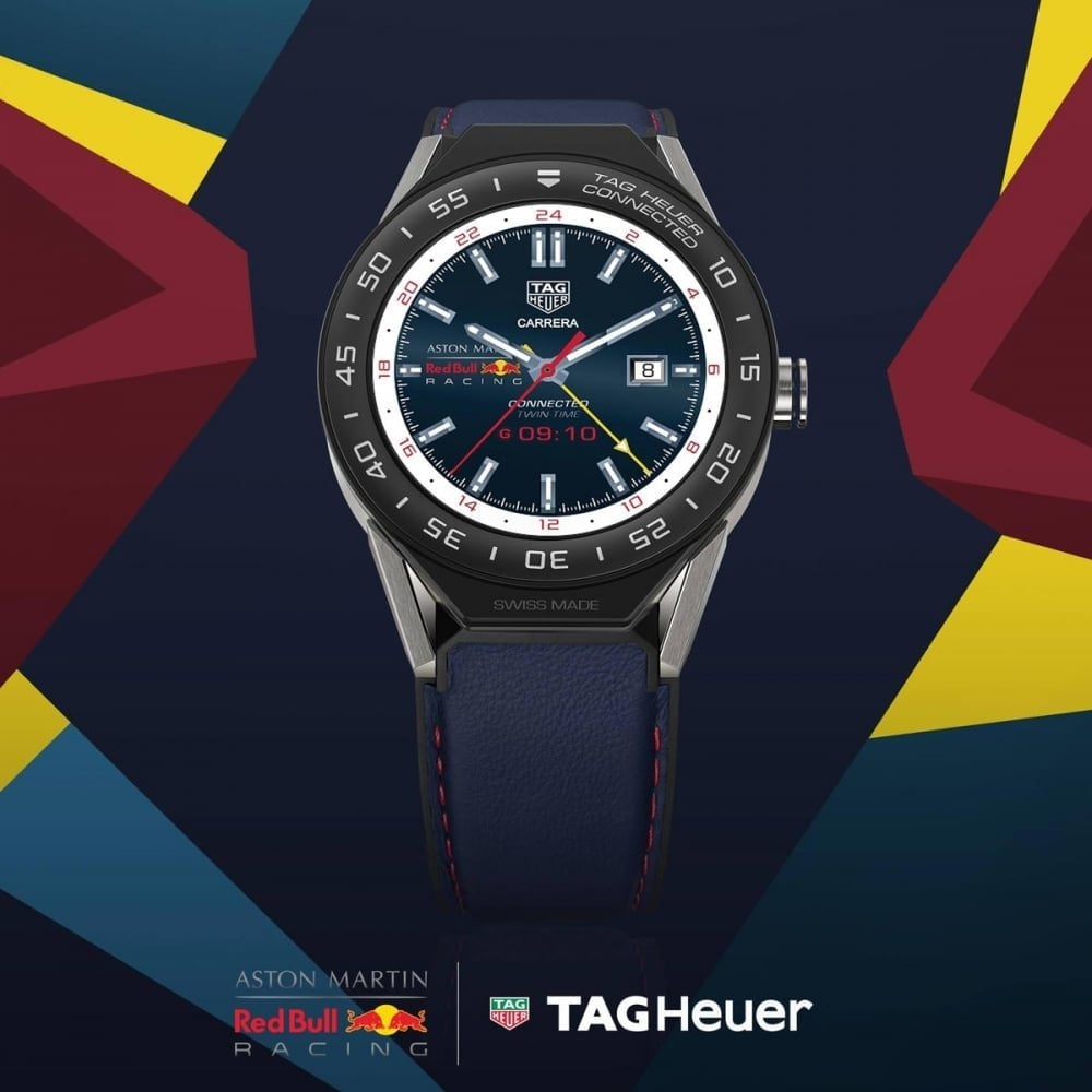 tag heuer connected modular 45 aston martin red bull. Black Bedroom Furniture Sets. Home Design Ideas