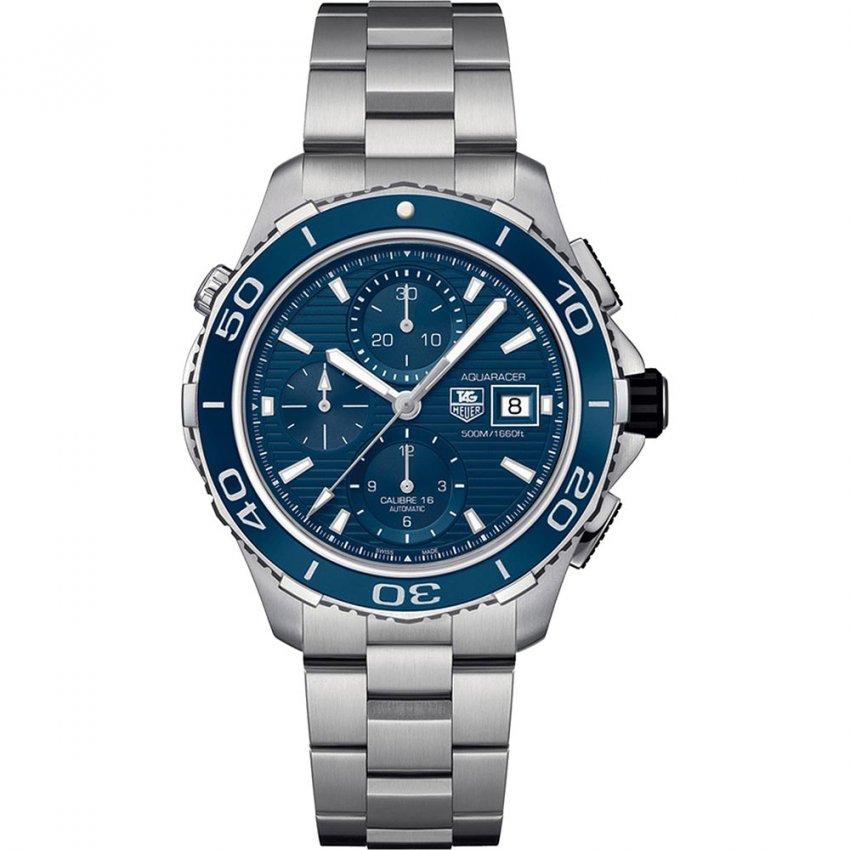 TAG Heuer Gent's Aquaracer 500M Calibre 16 Automatic Divers Watch CAK2112.BA0833