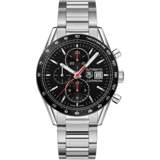 Gent's Carrera Calibre 16 Automatic Chronograph Watch