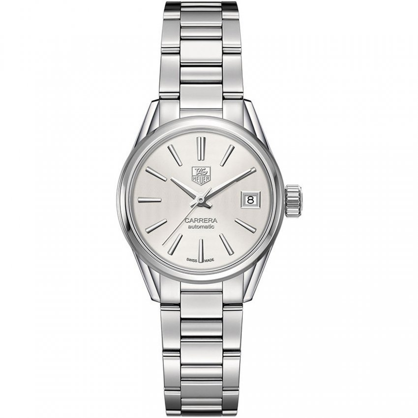 TAG Heuer Ladies All Steel Calibre 9 Automatic Swiss Watch WAR2416.BA0770