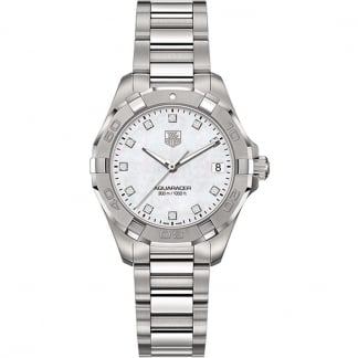 Ladies Aquaracer 300M Diamond Set Quartz Watch