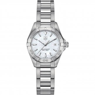 Ladies Aquaracer 300M Mother of Pearl Dial Automatic Watch