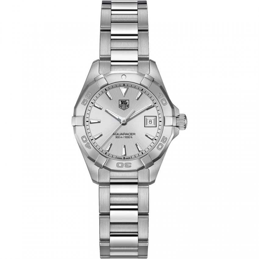 TAG Heuer Ladies Aquaracer 300m Stainless All Steel Watch WAY1411.BA0920