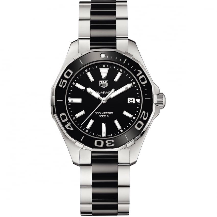 TAG Heuer Ladies Aquaracer 35MM Black Ceramic Quartz Watch WAY131A.BA0913