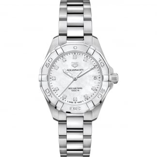 Ladies Aquaracer 32mm Diamond MoP Divers Watch