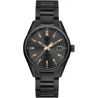 Ladies Black PVD Carrera Quartz 39MM Watch WAR1113.BA0602