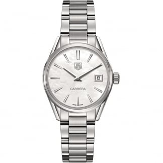 Ladies Carrera 32mm Quartz mother Of Pearl Watch