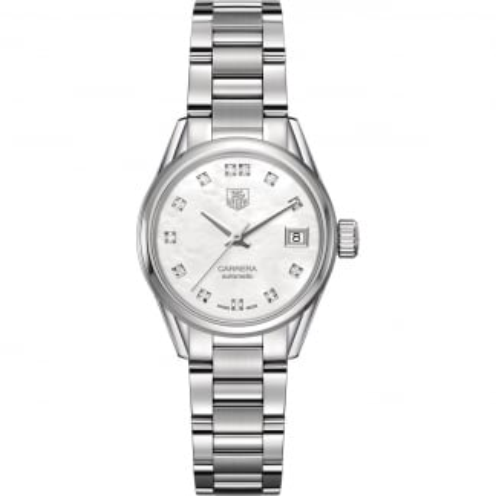 Ladies Carrera Diamond Calibre 9 Automatic Watch WAR2414.BA0776