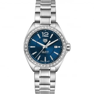 Ladies Formula 1 Diamond 32mm Blue Dial Watch