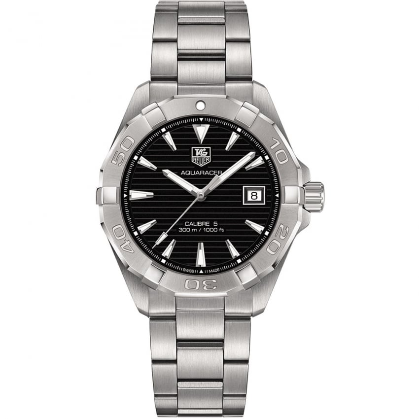 TAG Heuer Men's 40.5MM Calibre 5 Automatic Aquaracer Watch WAY2110.BA0928