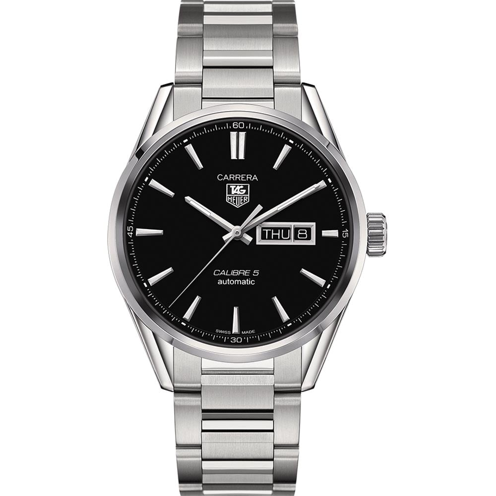 1f1ae8dc613 TAG Heuer Men s 41mm Calibre 5 Day-Date Carrera Watch Product Code   WAR201A.BA0723